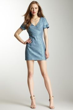 Rebecca Minkoff Katya V-Neck Dress