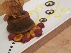 Chocolate Dessert Garnish - Bing Images