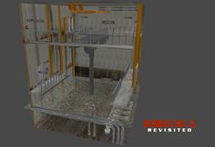 Sewers Beta - Central Hub Exodus (DXP) by RE15REvisited.deviantart.com on @DeviantArt
