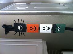 Halloween decor... Copied from pinterest! Super easy!!!