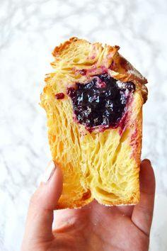 Blueberry Cruffins (Croissant + Muffins)