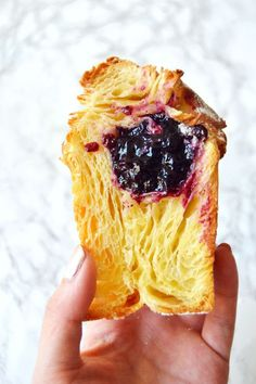 Blueberry Cruffins (