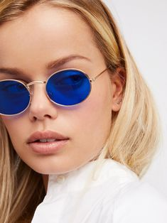Candy Crush Oval Sunnies at Free People Clothing Boutique