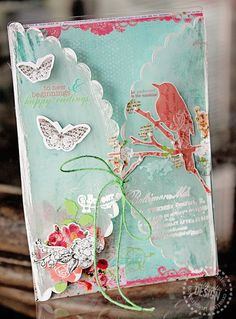 Clear Scraps Blog Hop Week; card by Ranjini featuring Spring Jubilee   via Suzanne Pearson Tonga.  Wendy Schultz - Cards 1.