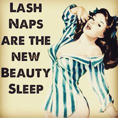 Lash Naps ARE the new Beauty Sleep!