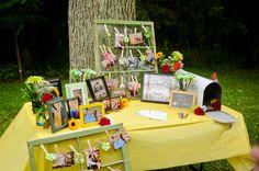 offbeat maryland wedding yellow green DIY low budget venue (10)