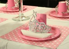 Princess Party Place Setting