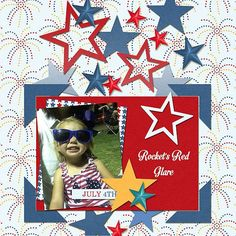 GingerScraps :: Templates :: Super Star Templates by Miss Fish Templates