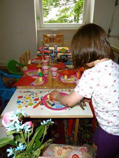 Kindergeburtstag-Tisch-dekorieren