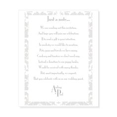 Wedding Gift Poem Pots And Pans : ... about Wedding Gift List on Pinterest Traditional, Sun and Gift list
