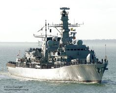 Type 23 frigate HMS Lancaster arrives home in Portsmouth