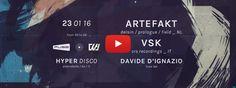 23.01 Fuse Lab+Il Suono+wa:iver pres. ARTEFAKT & VSK @Hyper Disco