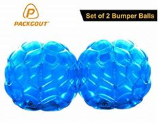 awesome Bumper balls, PACKGOUT Sumo Bumper Bopper, Inflatable Body Bubble Bbop Ball for Kids & Adults – 2 Balls Included Bubble Buddy, Things That Bounce, Cool Things To Buy, Bubble Soccer, Baby Snowsuit, Best Kids Toys, Pvc Material, Game Sales, Pvc Vinyl