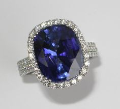 Mark Patterson Sapphire and Diamonds Engagement Ring OMG!