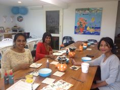 A great catch up with friends @ Paint & Create Ceramic Painting Meadowbank Auckland