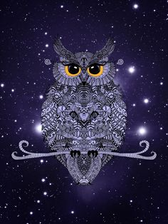 Night Owl Art Print                                                                                                                                                                                 More