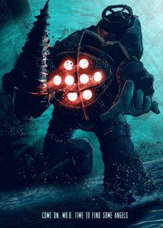 Big Daddy - Bioshock, Video Games, Displate