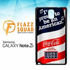 Coca-cola debuts new red, white & BLUE W4246 Samsung Galaxy Note 3 Case