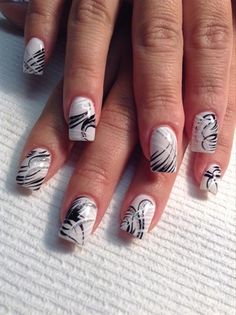 Marshmellow by AlysNails - Nail Art Gallery nailartgallery.nailsmag.com by Nails Magazine www.nailsmag.com #nailart
