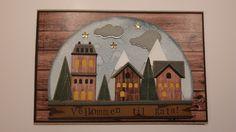 Kreativ Pyssel: Nytt år, kanskje nytt hus? Tim Holtz, Globe, Scrapbooking, Painting, Weihnachten, Creative, Speech Balloon, Painting Art, Scrapbooks