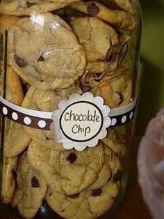 cookies in a big mason jar