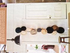 Cowboy hats- Like this hat rack style! Set up to hold quite a few.