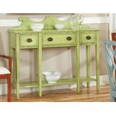 Found it at Wayfair - Pistachio Pudding Console Table