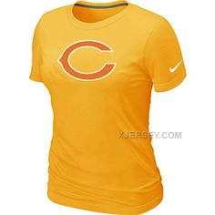 http://www.xjersey.com/chicago-bears-yellow-womens-logo-tshirt.html CHICAGO BEARS YELLOW WOMEN'S LOGO T-SHIRT Only 24.60€ , Free Shipping!