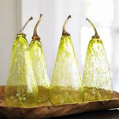 Gossamer glass pears