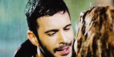 Defmer'den rain kiss. Ice Bear We Bare Bears, Cute Couples Kissing, Dark Love, Under The Rain, Elcin Sangu, Drama Series, Turkish Actors, Favorite Tv Shows, Couple Goals