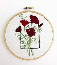 Hey, I found this really awesome Etsy listing at https://www.etsy.com/listing/237318347/red-geometric-poppy-floral-flowers-5