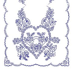 Ubrus K 298 Hungarian Embroidery, Folk Embroidery, Cross Stitch Embroidery, Embroidery Patterns, Machine Embroidery, Hand Sewing, Folk Art, Coloring Pages, Needlework