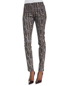 Theyskens' Theory printed pants (more Theyskens' here -- http://chicityfashion.com/theyskens-theory/)