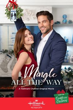 Its a Wonderful Movie - Your Guide to Family and Christmas Movies on TV: Mingle All the Way - a Hallmark Channel Countdown to Christmas Movie starring Jen Lilley, Brant Daugherty and Lindsay Wagner! Películas Hallmark, Films Hallmark, Hallmark Channel, Films D' Halloween, Halloween Movie Night, Halloween 2, Brant Daugherty, The Way Movie, Movie Tv