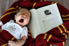And this (tired!) one: | 29 Newborns Who Really Nailed Their First Photo Shoot