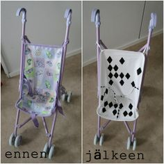 DIY new clothes to my toddler's carrycot
