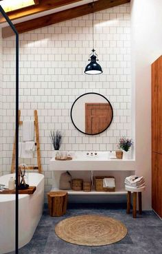 Bathroom interior design 317714948712091989 - Tips in Creating Your Family Bathroom Source by diaryofaTOgirl Bathroom Inspiration, House Design, Bathroom Interior, House Interior, Bathrooms Remodel, Bathroom Decor, Home, Bathroom Design, Home Decor
