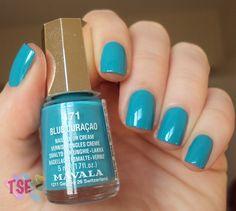 Blue Curaçao :: Mavala | Tudo Sobre Esmaltes http://tudosobreesmaltes.com/2012/06/19/blue-curacao-mavala/