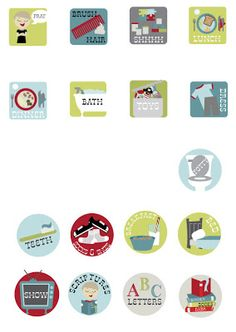 love the icons Chore Chart Kids, Chore Charts, Chore Board, Job Chart, Kids Icon, Chores For Kids, Bath Toys, Life Organization, Getting Organized