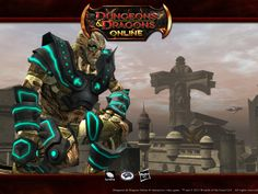 Dungeons & Dragons Online 4:3 Wallpaper - Warforged