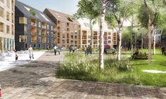 Skanska bygger ny stadsdel i Växjö