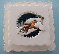'The Snowman' - by CakesChristine @ CakesDecor.com - cake decorating website