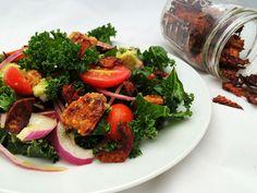 The BKT (Bacon, Kale, & Tomato) Bowl | Artisanal Vegan
