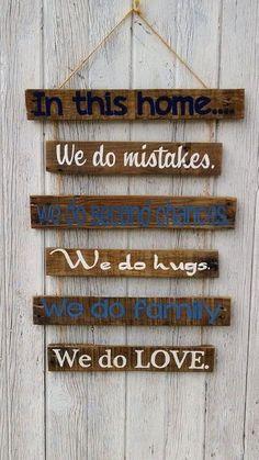 Pallet Wooden Sign Board