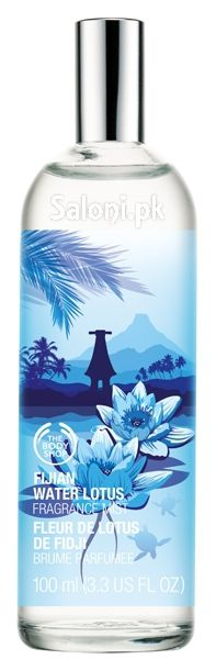 Escape to the island paradise of Fiji… where we discovered a breathtakingly beautiful water lotus. We carefully hand-picked these flowers and create