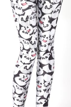 Black Milk Clothing - Emotional Panda Leggings..christmas present? (hint-hint)