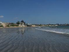 Ballenita Beach, Province of Santa Elena in Ecuador