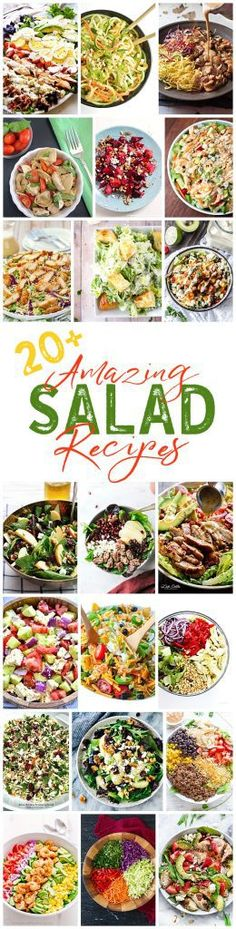 So many delicious salad recipes!
