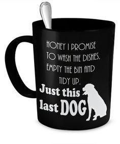 Just This Last Dog Mug lastdogmug