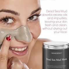 THE BEST Dead Sea Mud Mask, 250g/ 8.8 fl. oz. - Dead Sea Mud Mask Best for Facial Treatment, Minimizes Pores, Reduces Wrinkles, and Improves Overall Complexion - Dead Sea Minerals Help to Pull Toxins Out of the Skin - Facial Mask Provides Relief from Acne, Blackheads, Pimples, Acne Scars and Cellulite - Safe for Use on Face and Body - Premium Spa Quality Dead Sea Product - Skin Cleanser, Pore Reducer & Natural Moisturizer | Amazon Hot Sales